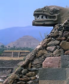 Quetzacoatal & Temple of the Sun